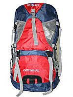 Рюкзак туристический сине красный