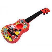 "Гитара струнная Q649 ""Mickey Mouse"" сумка 41*13*4 ш.к./144"