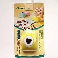 Дырокол фигурный для детского творчества CJ-521 №70 Сердце