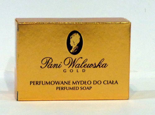 Мыло Pani Walewska gold парфюмированное 100гр Польша, фото 2