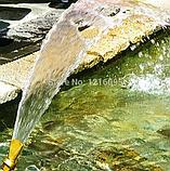 Фонтанная насадка в форме веер или хвост павлина, фото 5