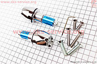 Заглушки - отбойники руля c LED подсветкой  d=14-22 mm в комплект 2 шт.
