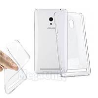 Прозрачный силиконовый чехол для Asus Zenfone 5