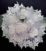 Свадебный букет-дублёр невесты (кремовый)