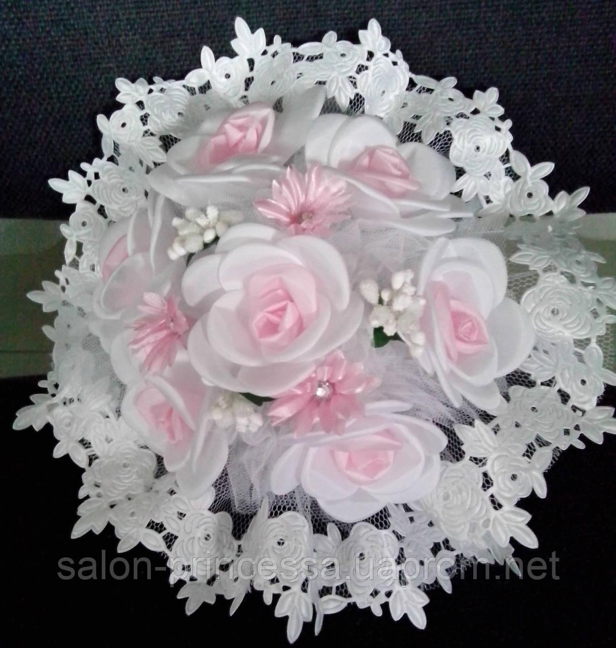 """Свадебный букет-дублёр невесты (розовый) - Свадебный салон """"Принцесса"""" Чернигов в Чернигове"""