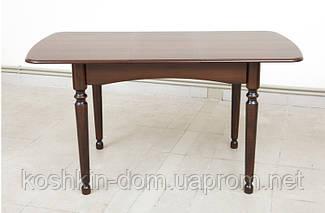 Стол обеденный Поло Ультра раскладной из массива 108(+32)*73 см