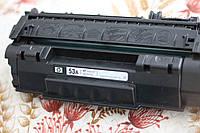 Картридж hp q7553a (hp m2727/p2015) БУ первопроход под заправку оригинал первопроходец
