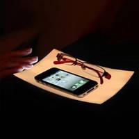 Светодиодная подставка для телефона, поглощает электромагнитные волны