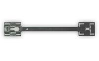 Фигурная пластина для крепления молдингов порога Opel 0164987, 9174457