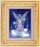 Схема для частичной вышивки бисером на габардине «Волшебная фея» ВШ,248х305,Габардин,Арт.ЧБ-1 /00-02