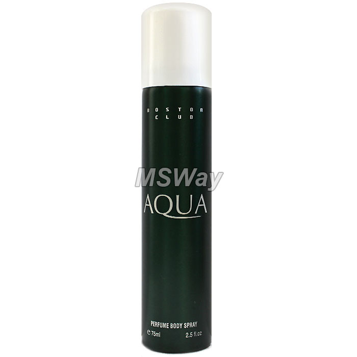 DEO 75ml - Aqua (Boston Club) парфюмир. деодорант мужской