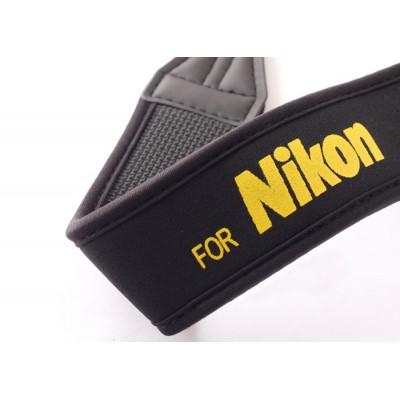 Неопреновый плечевой ремень для фотоаппаратов Nikon