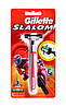 Бритвенный станок  Gillette Slalom на планшете
