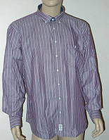 Мужская рубашка Aygen (Турция) в сиреневую полоску