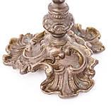 Старый добротный подсвечник, бронза, Германия, фото 6