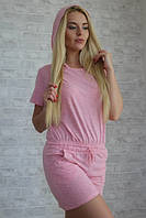 Костюм, состоящий из  шорт с футболкой (3расцветки) м252/1