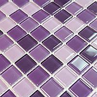 Мозаика для стен Vivacer Mix C014 сиреневая
