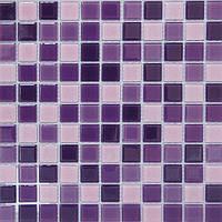 Сиреневая мозаика для кухни Vivacer Mix C014