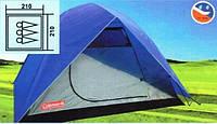Туристическая палатка Coleman 1018 3-х местная