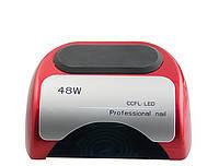Гибридная лампа для маникюра, педикюра и наращивания ногтей LED +ССFL  48 W