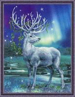 """Набор для вышивания Риолис  """"Белый олень"""""""