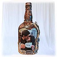 """Подарочная бутылка """"I love you"""". Подарок на годовщину свадьбы"""