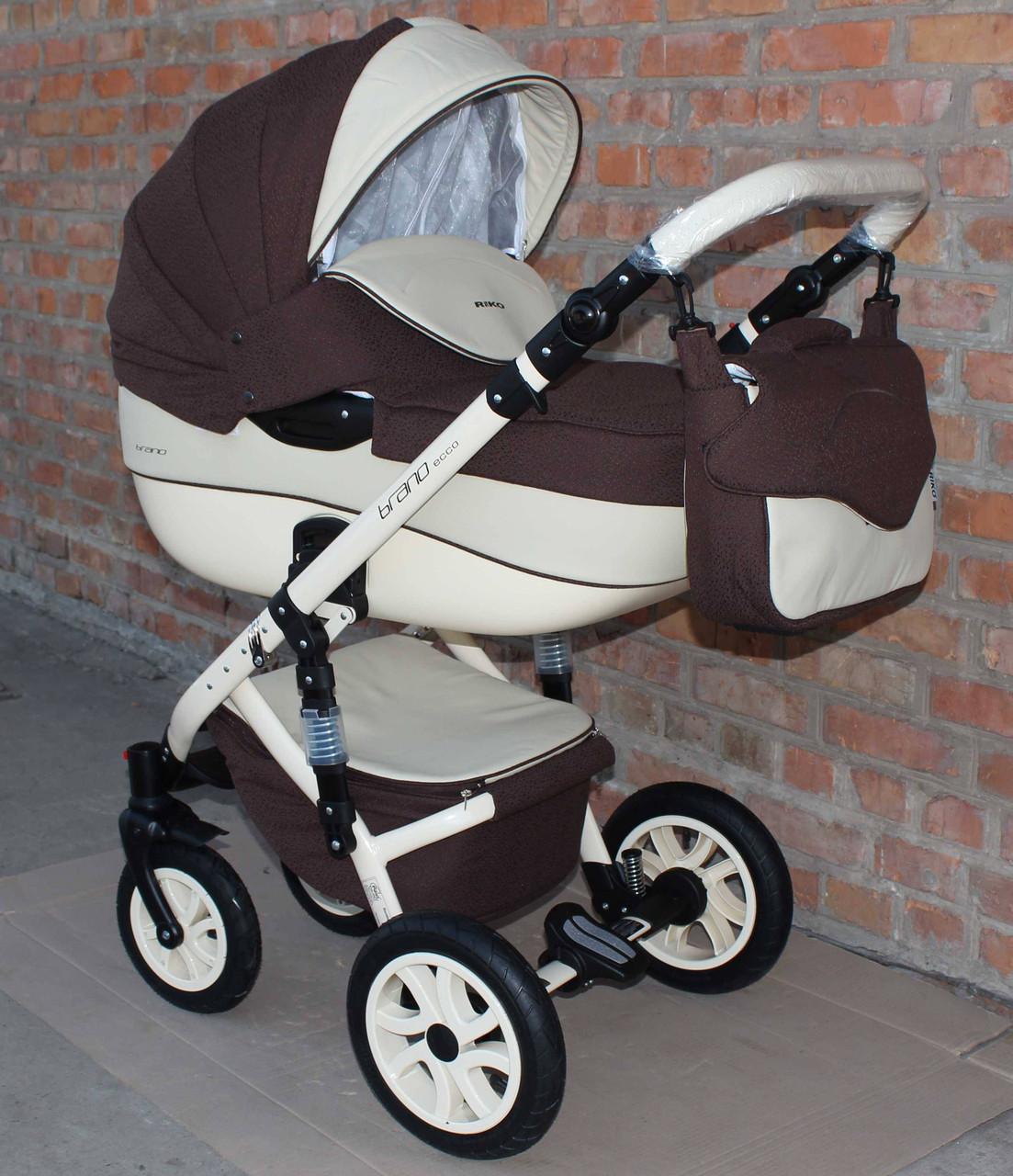 Детская универсальная коляска 2 в 1 Riko Brano Ecco 13