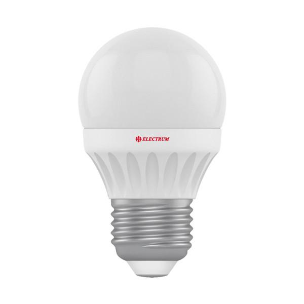 LED лампа Electrum LB-10 4W E27 4000K (яркий свет)