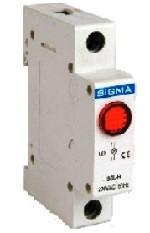 Модуль доп устройство индикатор сигнального контакта для автомат выключатя DIN -рейку 24В DC 1P цена купить