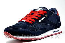 Кроссовки мужские Reebok Classic, Dark blue\Red, фото 2