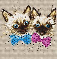 Luca-S Набор для вышивки крестом Кошки В2298