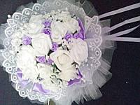 """Свадебный букет-дублёр невесты """"Шик"""" (сиреневый)"""