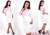 Платье с разрезом на плече 22- 723