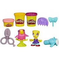 Play-Doh HASBRO Игравой набор парихмахерская TOWN Brand New City Hair Salon