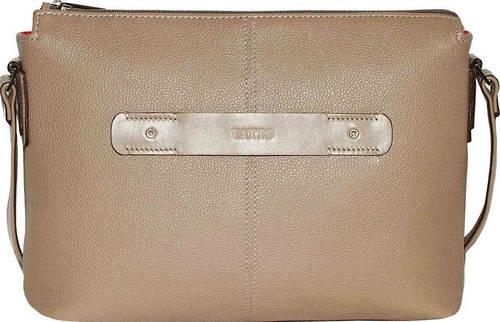 Вместительня женская сумочка из натуральной кожи VATTO Wk31 Fl5N1 бежевая