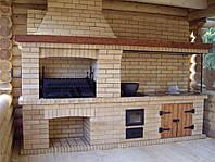 Печь, барбекю для  дачного участка
