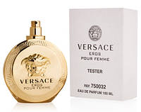 Женский парфюм Versace Eros Pour Femme 100 ml (тестер без крышечки)