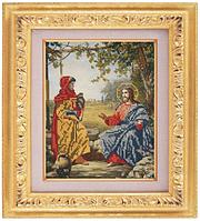 Схема для частичной вышивки бисером «Иисус» ВШ,248х305,Габардин,Арт.ЧБ-17 /00-02