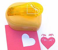 Дырокол фигурный для детского творчества JF-33CM-3 Сердце