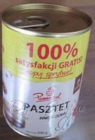 Паштет куриный Mispol 390 грамм Польша