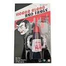 Кровь искусственная с зубами вампира