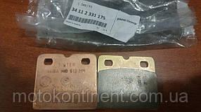 Тормозные колодки для мотоцикла  BMW 34112331175 передние