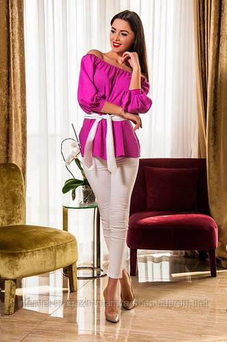 Костюм женский  блузка и брюки