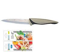 """Нож универсальный 5"""" Rainbow Damascus coating MR-1448"""
