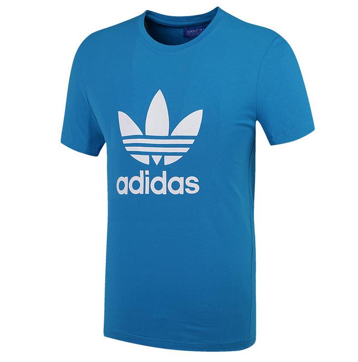 "Футболка Adidas Originals ""ADI TREFOIL TEE"", синий"