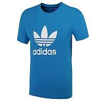 "Футболка Adidas Originals ""ADI TREFOIL TEE"", синий, фото 1"