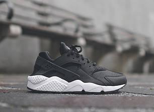 Кроссовки Nike Huarache Black-White, фото 2