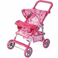 Прогулочная детская коляска для кукол Melogo 9366 T / 018 HN