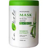 La Fabelo маска для сухих и окрашенных волос 1000мл. экстракт бамбука, растительная пшеничная плацента