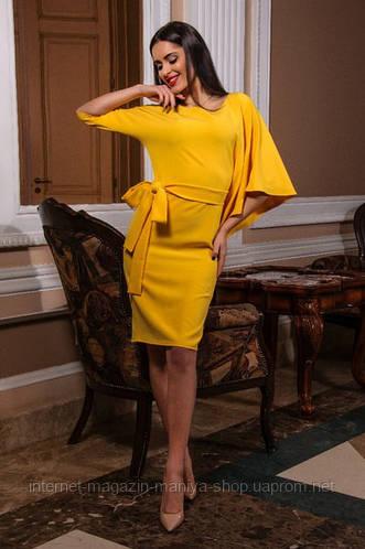 Платье женское, рукав неотрезной длиной до линия бедра